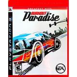 Burnout Paradise Para Ps3 Nuevo Y Sellado Fisico 100% Orig.