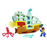 Mattel Jake Y Los Piratas De Neverland Fisher Price Barco