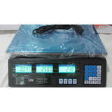 Balanza Electronica Peso Digital Recargable Charcuteria 30kg