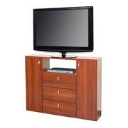 Mueble Para Tv Led 50` Multifuncion Cedro