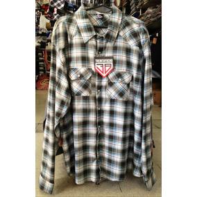 Camisa Escocesa ** 38 Special ** 3xl Manga Larga
