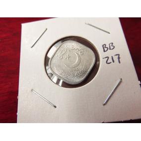 Bb#217 Moneda Del Mundo Pakistan Cuadrada