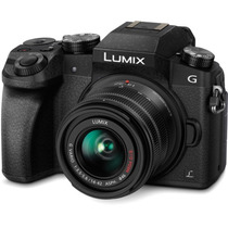 Câmera Panasonic Lumix G7 + Lente 14-42mm 4k Mirrorless Wifi