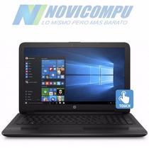 Laptop Hp 15-ay191 I3-7100 1tb 8gb 15.6 Touch Dvd-rw Win10