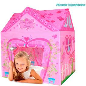 Carpa Casita Castillo Nenas Infantil Casa Pequeña Iplay