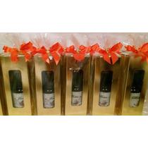 Mini Vinho Personalizado Garrafinha P.cristal 50ml Promoção!