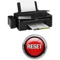 Reset Epson - L355 - L200 - L300 - L800 - Almofada +código