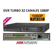 Dvr 32 Canales Hikvision Turbo Hd 1080p Ds-7332hghi-sh