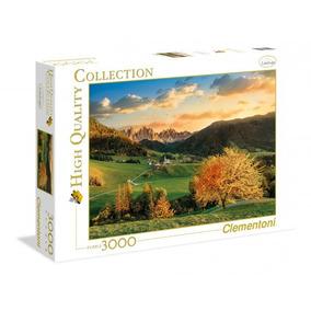 Puzzle Clementoni X 3000 Santa Maddalena Dolomites Bs 33545