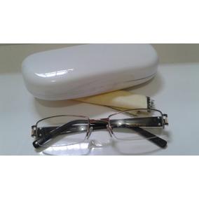 Armação Feminina Para Grau Nylon Strass / Para Multifocal