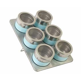 Especiero Imantado Magnetico X 6 Colores *tiendadenda*
