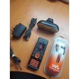Sony Ericsson W580 Negro !!!! Excelente !!!!