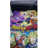 Cuchelecho/edredón Dragón Ball Z Con Relleno Acolchado+funda