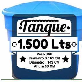 Tanque Contenedor De Agua 1500 Lts