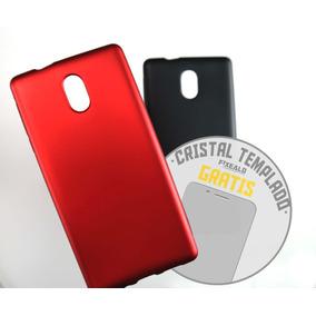 Funda Protector Jelly Case Mica Glass Cristal Resiste Nokia3