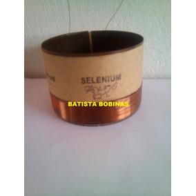 Bobina P Alto Falante Selenium Jbl Woofer 10w16p 300 Rms