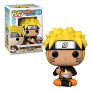 Funko Pop Naruto Uzumaki #823 Comendo Noodles Exclusivo