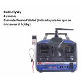 Radio Control Flysky 4 Canales