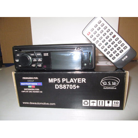Dvd Player Dsw Mp5 Bluetooth Microfone Usb Pendrive Sd Am Fm