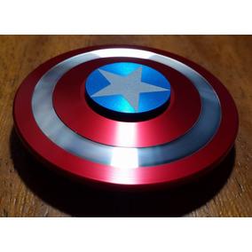 Spinner Capitán América 100% Aluminio (2 Minutos) Rosario
