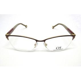 Oculos Carolina Herrera Vhe079 De Grau - Óculos no Mercado Livre Brasil 42b6fb1ace