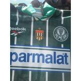 Camisa Palmeiras Usada P/djalminha 1996,relíquia Conservada!