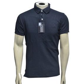 Camiseta Polo Ricardo Almeida Azul Marinho.