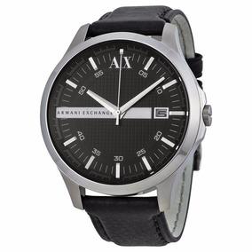 Reloj Ax Ax2101 Piel Negro Original Caballero Envío Gratis**