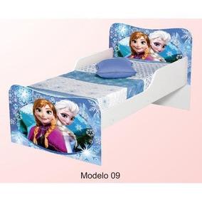 Mini Cama Frozen Com Colchão 150x70 Super Oferta- Lojas Movz