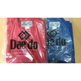 Uniforme De Taekwondo Daedo Original Wtf Nuevos Rojo Y Azul