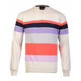 Sweater Pullover Brooksfield Hombre Algodon Tejido B04245z