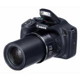 Maquina Semiprofissional Digital Canon Sx530hs C/ Wi-fi
