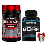 Testosterona Estímulo Sexual Testo G H + Bcaa 220 Cáp