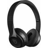Beats Audífonos Solo 3 Wireless Para Apple Negro Brillante