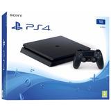 Playstation 4 Slim 1 Tb + 2 Joystick + 5 Juegos