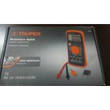 Multimetro Truper .mut-39 Codigo 10402