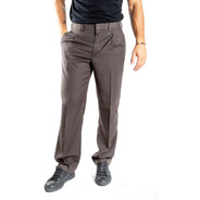 Pantalon Marca Hombre Vestir Pinzado Alpaca Olegario