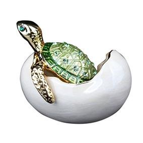 Tortuga Bejeweled En Huevos De Incubación Caja De Regalo Jo