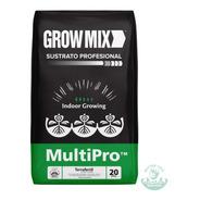 Sustrato Grow Mix Multipro 20l Turba Perlita Compost Grow