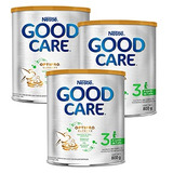 3 Latas Fórmula Infantil Good Care 3 Optipro Supreme 800 Gr