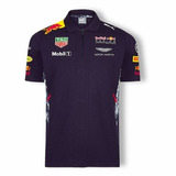 Nova Camisa Pólo Red Bull Racing F1 Team 2017 Pronta Entrega