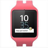 Relogio Smartwatch 3 Sony Swr50 Nfc/blu Android (rosa) Novo