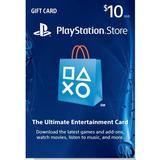 Tarjeta Playstation Psn Gift Card 10 Usd Ps4 Ps3 Disponibles