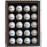 Gabinete Exhibidor Para 20 Pelotas De Beisbol Con Seguro C