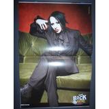Marilyn Manson Poster 45 X 30