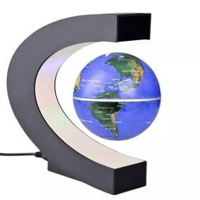 Globo Terrestre Magnetico Flutuante Giratorio Anti Gravidade