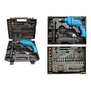 Taladro Percutor En Kit 710 W 57 Accesorios Gamma G1904kar