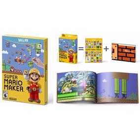 Super Mario Maker - Wii U - Pronta Entrega - Jogo + Artbook