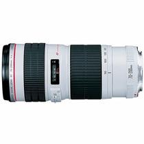 Canon Ef 70-200mm F/4l Usm Novo