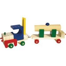 Coleção Faça Você Mesmo - Brinquedo Madeira Caminhão Pipa